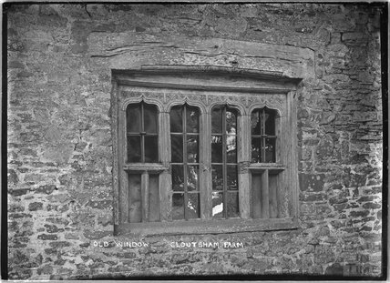 Old Window, Cloutsham Farm, near Minehead, Somerset, 1909