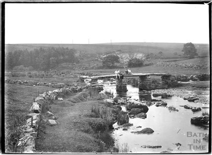 Postbridge, Dartmoor, Devon 1928