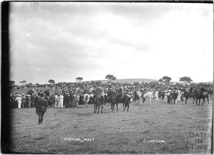 Opening Meet, Cloutsham, near Minehead, Somerset, 1909