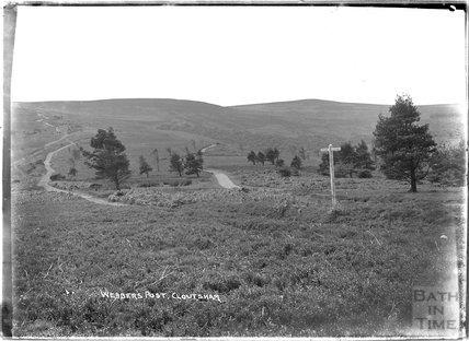 Webber's Post, Cloutsham, near Minehead, Somerset, 1909