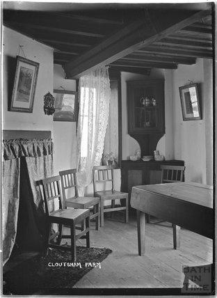 Inside Cloutsham Farm, near Minehead, Somerset, 1909