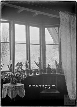 Dunkery Beacon from inside Cloutsham Farm, near Minehead, Somerset, 1909