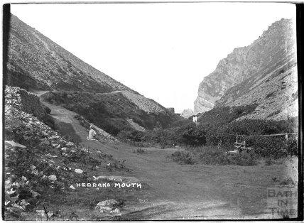 Heddon's Mouth, near Lynmouth, Exmoor, Devon, c.1920s