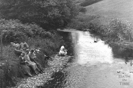 Lynton near Lynmouth, Exmoor, Devon, 1932 - detail