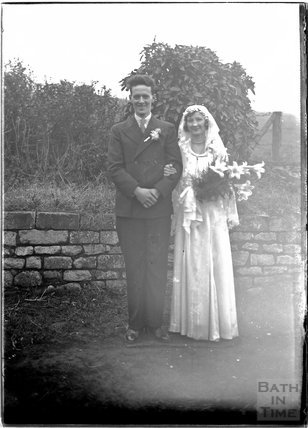 Unidentified Wedding portrait, c.1930s