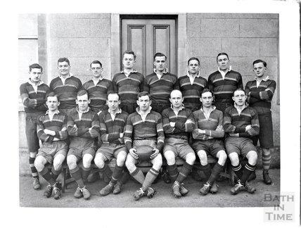 Unidentified rugby team, Bath c.1920s?