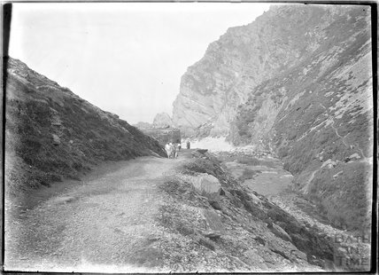Heddon's Mouth, near Lynmouth, Exmoor, Devon, c.1920s