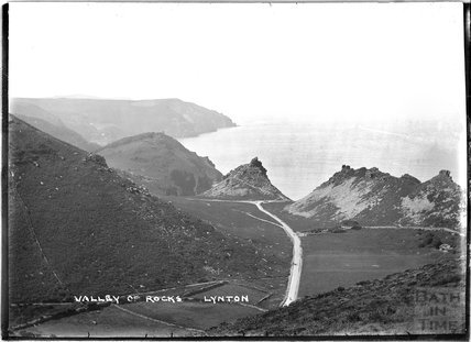 Valley of Rocks, Lynton near Lynmouth, Exmoor, Devon, c.1920s
