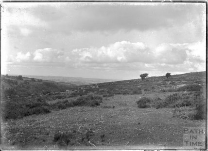 View of Dartmoor, near Chagford, Devon c.1928