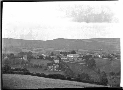 View of Chagford, Dartmoor, Devon c.1928