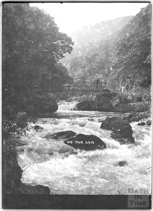 On the Lyn, Lynton near Lynmouth, Exmoor, Devon, c.1920s