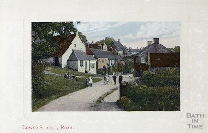 Lower Street, Road (Rode) c.1900