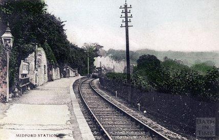 Midford Station c.1900
