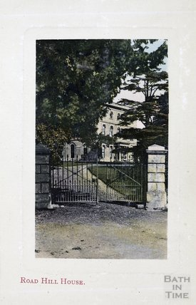 Road Hill House, now Langham House, Rode, c.1900