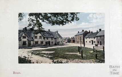 The Village Green at Road (Rode) c.1900