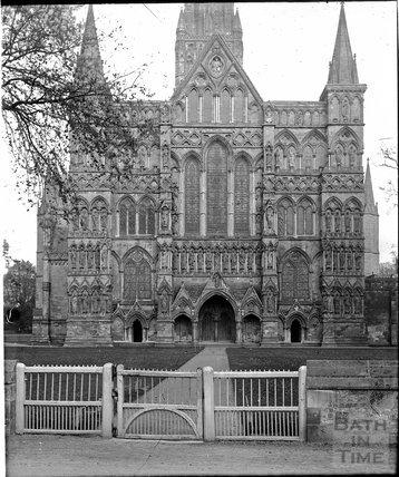 Salisbury Cathedral c.1900s