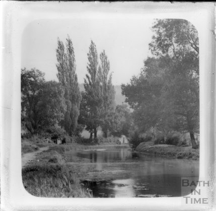 The Kennet and Avon Canal, Bathampton c.1925