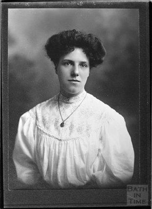 Copy of a portrait of Miss Webber c.1900s