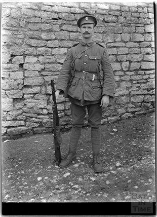 Sidney Bence from Batheaston, c.1915