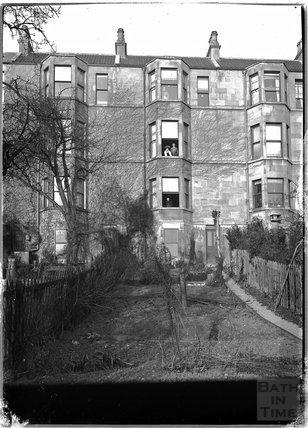 The rear of Belgrave Crescent, Bath c.1920s