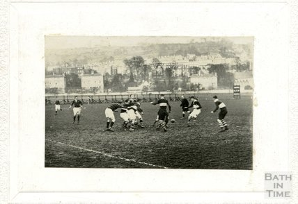 Rugby on the Recreation Ground c.1910