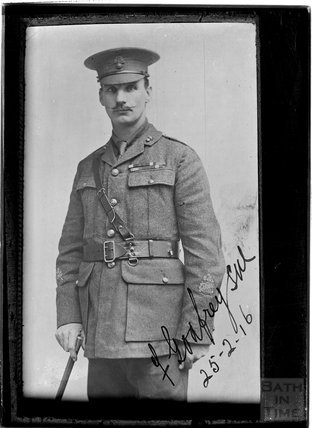 Copy of portrait of F Godfrey SW (?) 25 Feb 1916