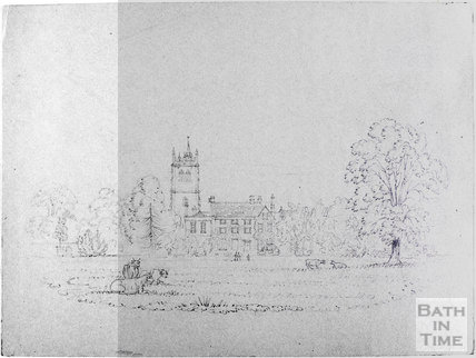 Sketch of the Grange, Bitton c.1870s?