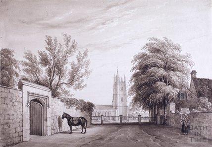 Church Lane Bitton looking south c.1870s?