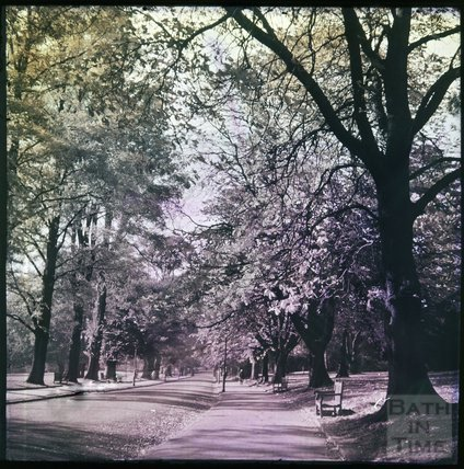 Dufaycolor view of Royal Victoria Park, May 1937