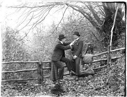 The photographer's friends posing c.1910s