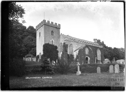 All Saints Church, Selworthy, Somerset c.1910s