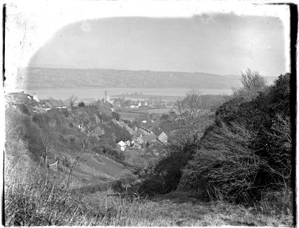 Thought to be a view of Blagdon Lake c.1920s