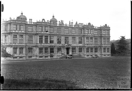 The front of Longleat House, Wiltshire c.1920s