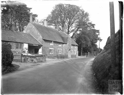 An unidentified house on a country lane c.1920s