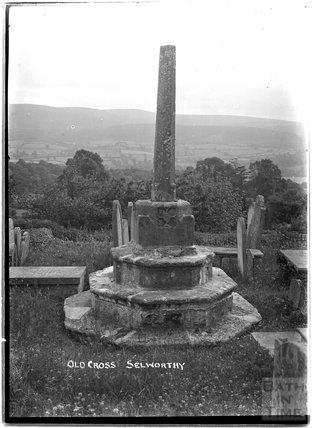 Old Cross, Selworthy, Somerset c.1910s