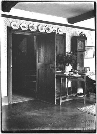 Inside Glebe Cottage, Luccombe, near Minehead, Somerset c.1910s