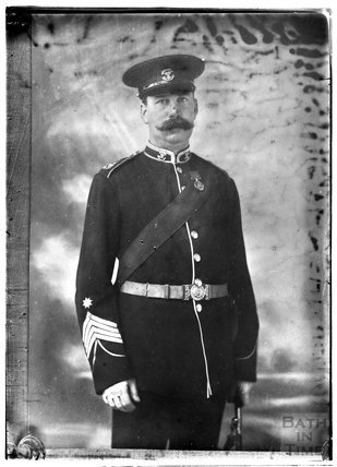 Portrait of a man in uniform c.1880s - 1900s