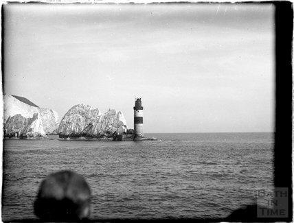 Needles Lighthouse, Isle of Wight 1933