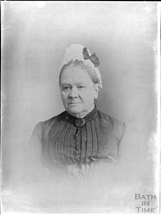 Portrait of an elderly lady c.1880s - 1900s