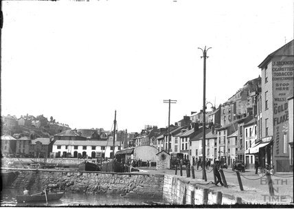 The quayside at Brixham, Devon c.1930s