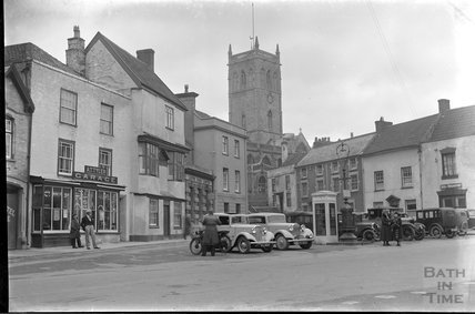 The Square, Axbridge, Somerset c.1930s