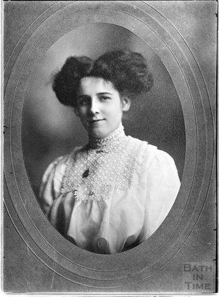 Portrait of an unidentified lady c.1880s - 1900s