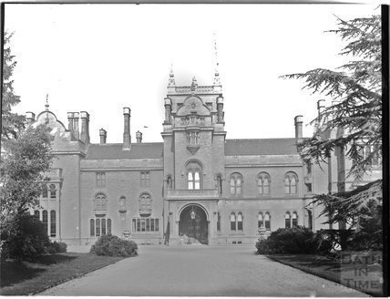 Grittleton Manor, now Grittleton House School, Wiltshire c.1890s
