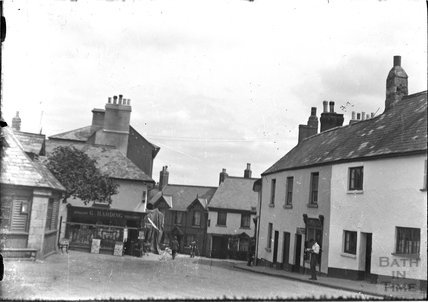 HIgh Street / Mill Street, Chagford, Devon, c.1930s