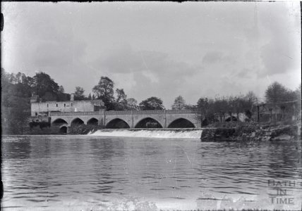 Batheaston Mill and toll bridge c.1920s