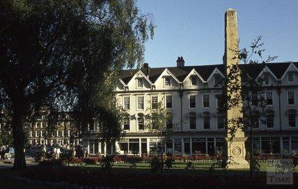 The obelisk in Orange Grove, Bath 1984