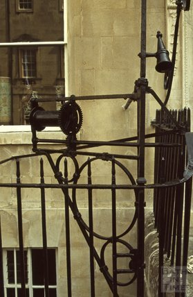 Georgian Hoist at Alfred's House, Alfred Street, 1979
