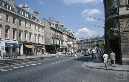 George Street on the corner of Milson Street, 1979