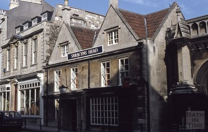 The Saracen's Head, 42, Broad Street, Bath 1979