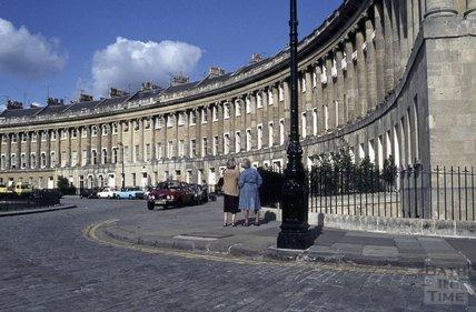 Royal Crescent, Bath, 1979